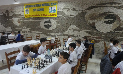 Campionate Nationale de Sah Juniori 2017